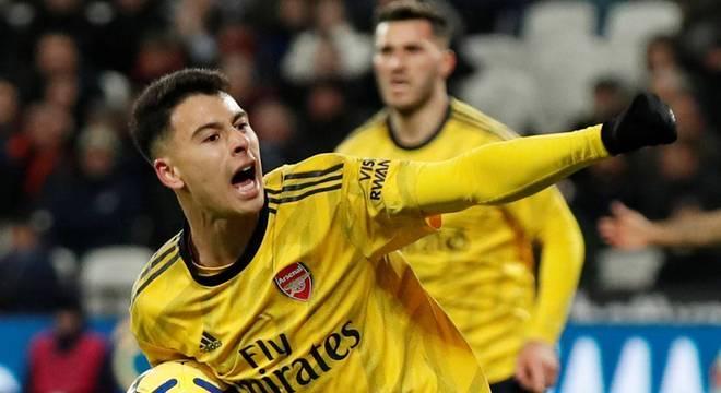 Gabriel Martinelli. Jardine o queria muito na Seleção. Arsenal disse 'não'