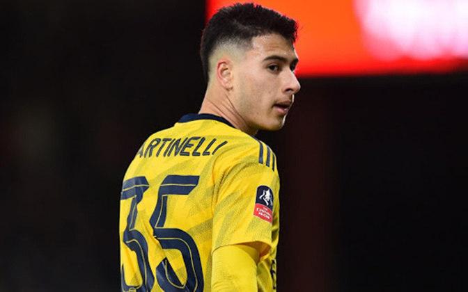 Gabriel Martinelli (19 anos) - Posição: atacante - Clube: Arsenal.