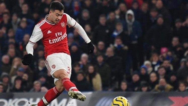 Gabriel Martinelli - Contratado pelo Arsenal aos 18 anos, como uma grande aposta, Martinelli logo se firmou no time inglês como um xodó da torcida e artilheiro de gols decisivos. O ex-Ituano custa atualmente R$ 156 milhões, mostrando o acerto dos ingleses no negócio.