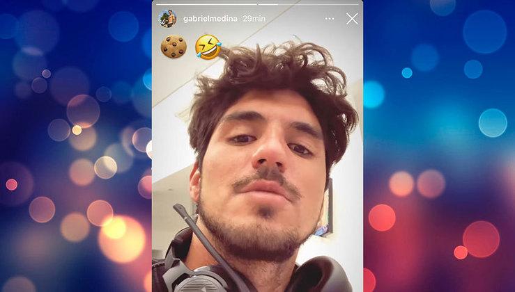 Gabriel Medina e Yasmin reagiram nas redes sociais afirmando que alguém era, na linguagem popular,