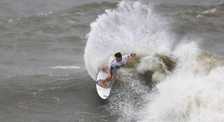 Gabriel Medina ficou em 4º lugar na estreia do surfe em Jogos Olímpicos
