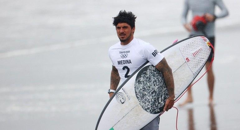 """Gabriel Medina rebate provocações de algoz japonês: """"Ganhei inúmeras vezes dele"""""""