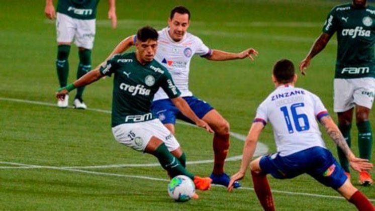 Gabriel Menino - 20 anos - Palmeiras - Valor de mercado: € 10 milhões (R$ 63,88 milhões)
