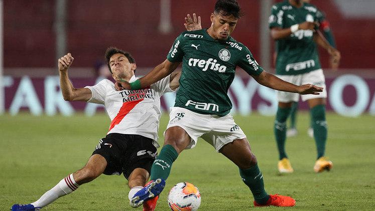 Gabriel Menino (20) - Palmeiras - Valor atual: 10 milhões de euros - + % - Diferença: 10 milhões de euros