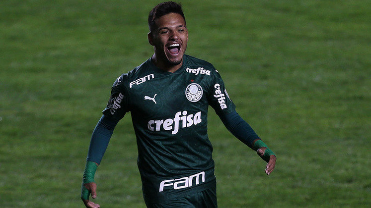 Gabriel Menino - Meia/lateral-direito - Palmeiras - Valor segundo o Transfermarkt: 14 milhões de euros (aproximadamente R$ 87,79 milhões)