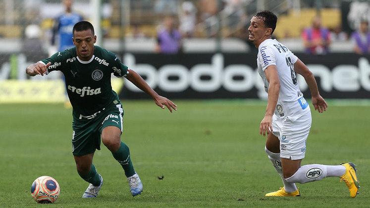 Gabriel Menino, meio-campista do Palmeiras, é uma das Crias da Academia que recentemente renovou seu contrato entre os profissionais. O vínculo vai até dezembro de 2024 e seu valor de mercado é de 10 milhões de euros (R$ 65,6 milhões). Ele tem 20 anos.
