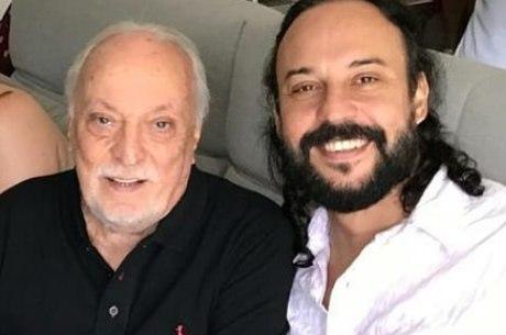 Gabriel O pensador e o pai Miguel Contino