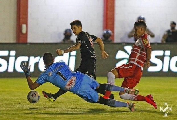 Gabriel Pec - Artilheiro do time com cinco gols em dez jogos, o meia-atacante mostra que a vida de quem quiser vaga naquela posição será dura.