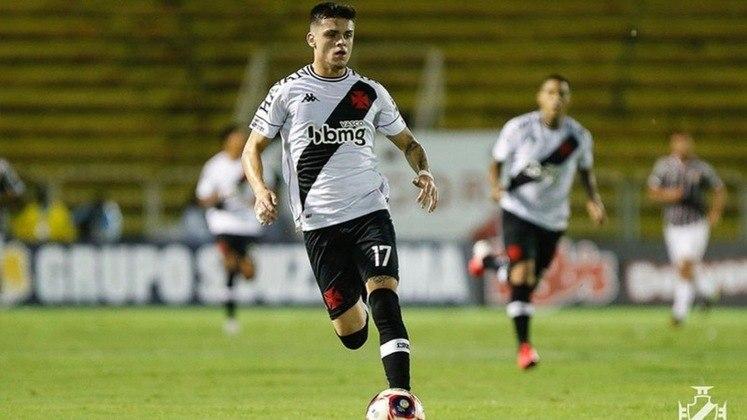 Gabriel Pec (atacante) - 65 partidas pelo Vasco.