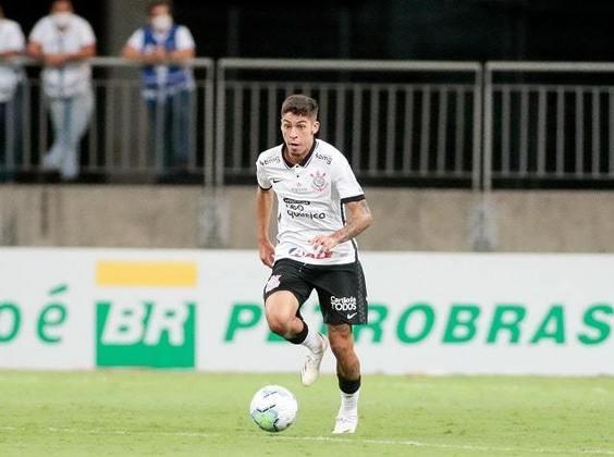 Gabriel Pereira - meia-atacante - 19 anos - Estreou no profissional em agosto de 2020, passou por problemas físicos e voltou a ter oportunidades recentemente. Tem sido utilizado com frequência por Vagner Mancini.