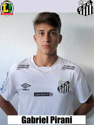 Gabriel Pirani - 5,0 - Entrou com o time já perdido em campo e pouco aparece.