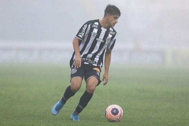 Gabriel Pirani: meio-campo – brasileiro – 19 anos – clube atual: Santos – validade do contrato: dezembro de 2022 – atual valor de mercado: não revelado