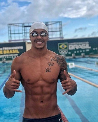 Gabriel Santos100 m livre4x100 livre4x100 medley