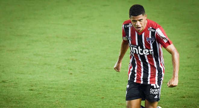 Gabriel Sara - 21 anos - São Paulo - Valor de mercado: € 3,5 milhões (R$ 22,36 milhões)