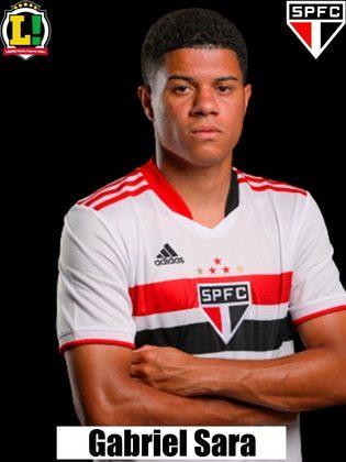 Gabriel Sara - 6,5 - Foi o autor do gol de desconto, já nos lances finais, mas não fez um jogo bom.