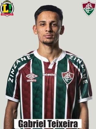 GABRIEL TEIXEIRA -6,5 - Foi opção recorrente de velocidade do Fluminense. Chegou a exigir Gabriel Chapecó em conclusão de longe.