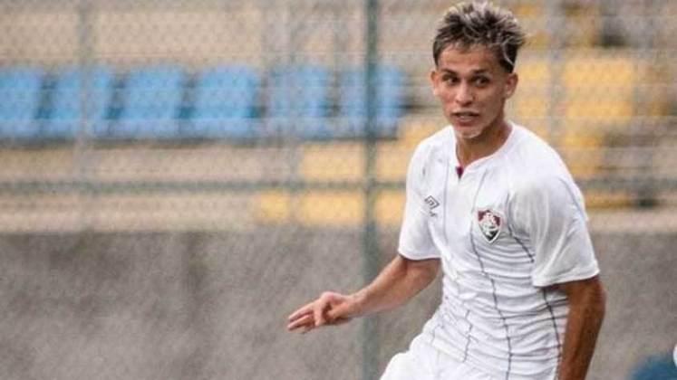 Gabriel Teixeira - meio-campista - 19 anos - contrato até 31/12/2024