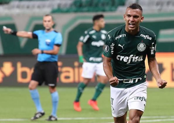 1 - Gabriel VeronDestaque do Brasil na Copa do Mundo sub-17 em 2019, Veron ainda não teve uma grande sequência no profissional do Palmeiras. Com apenas 18 anos o atacante é avaliado $ 160,4 milhões