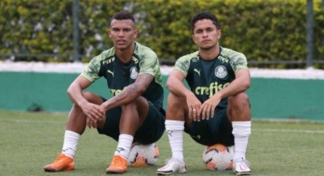 Gabriel Veron e Gabriel Silva