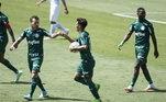 A jovem promessa foi o responsável pelo gol de empate na última partida do Palmeiras. Nas redes sociais, Gracielly fez questão de postar o vídeo do tento do filho: