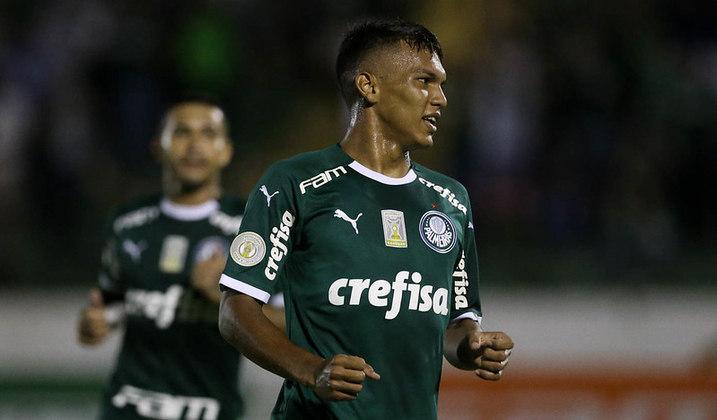 Gabriel Veron (Palmeiras) - Atacante de apenas 18 anos, Gabriel Veron é mais uma cria da base do Verdão. Com o gol no clássico contra o Corinthians, Veron se tornou o jogador que leva menos tempo para marcar um gol quando está em campo na competição e também pode surpreender na convocação de Tite