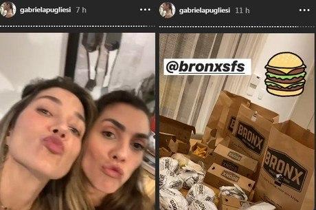 Gabriela Pugliesi apagou fotos e vídeos da festa