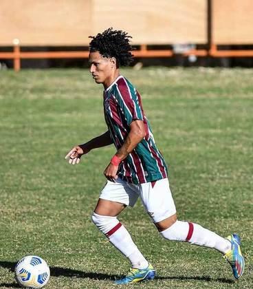 Gabryel Martins - 19 anos - atacante - contrato com o Fluminense até 31/12/2022