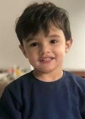 Gael, de 3 anos, sofreu uma parada cardíaca dentro de casa, nos Jardins (SP)
