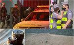 A semana que termina neste sábado (5 de dezembro de 2020)foi marcada por uma ação orquestrada por mais de 30 pessoas que assaltou umbanco na cidade de Criciúma (SC). Também aparecem entre os destaques odesmatamento recorde de floresta amazônica e crescimento da economia brasileirano terceiro trimestre. Relembre estes e outros acontecimentos nas próximasfotos