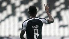 Botafogo anunciarescisão do contrato com marfinense Kalou