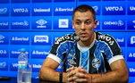 Depois de aterrorizar defesas quando atuava no Cerro Porteño, do Paraguai, Diego Churín chegou com status de artilheiro ao Grêmio. O tricolor gaúcho desembolsou cerca de 1,2 milhões de euros no jogador de 31 anos, que pouco rendeu, marcando apenas três gols e dando uma assistência em 13 jogos disputados no Brasileirão 2020