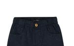 Bermuda jeans colorinfantil com cós em elástico azul marinho - Tamanhos 1 a 4 Essa bermuda é produzida em tecido natural. Com modelagemregular e com cós elástico, a peça perfeita para o conforto do seu filho aolongo do dia. Ela cai super bem com uma camiseta estampada e tênis.