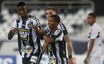 13º - Botafogo: 20,28 milhões de euros (aproximadamente R$ 137,7 milhões na cotação atual)