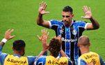 4º - Grêmio: 75,15 milhões de euros (aproximadamente R$ 510,2 milhões na cotação atual)