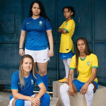 GALERIA: Os novos uniformes da Seleção Brasileira feminina