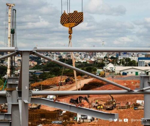 GALERIA: Veja as obras do novo estádio do Atlético-MG