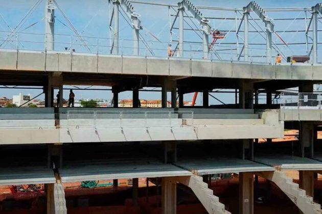 GALERIA: Veja como estão as obras do novo estádio do Atlético-MG