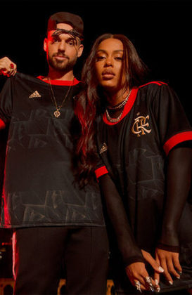 Nova camisa 3 do Flamengo