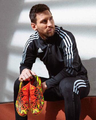 GALERIA: Veja fotos da nova chuteira de Messi