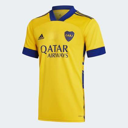 GALERIA: Veja imagens do novo uniforme 3 do Boca Juniors