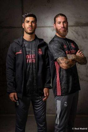 GALERIA: Veja imagens do novo uniforme 3 do Real Madrid