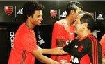 Não demorou muito para o jogador chamar atenção dos clubes da elite do futebol nacional. No ano seguinte, o jogador se transferiu para o Flamengo