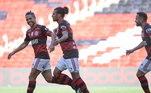 Pelo rubro-negro carioca, Arão já soma 210 jogos, tendo marcado 16 gols e anotado 19 assistências