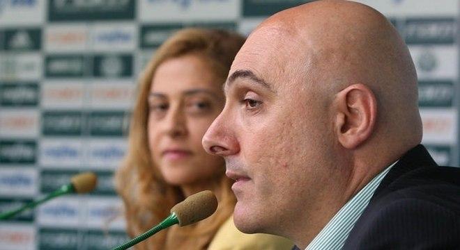 """Galiotte :""""O Palmeiras não vai embarcar em aventura"""", recado aos conselheiros"""