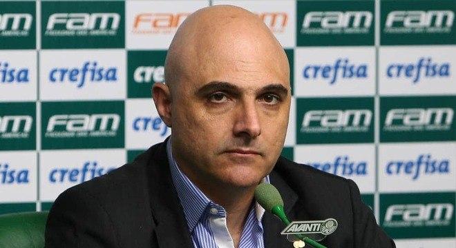 Galiotte reafirmou. Palmeiras só jogará o Paulista quando não houver risco