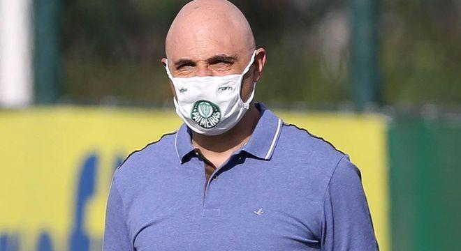 Galiotte está muito irritado com esse foco de Covid no Palmeiras. Ramires ameaçado