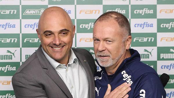 Galiotte. 20 jogos e Mano Menezes demitido sumariamente do Palmeiras