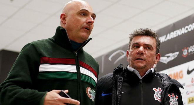 Galiotte e Andrés. Palmeiras e Corinthians unidos  pela redução de salários