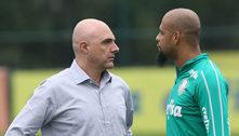 Situação delicada no Palmeiras. Abel quer Felipe Melo em 2022