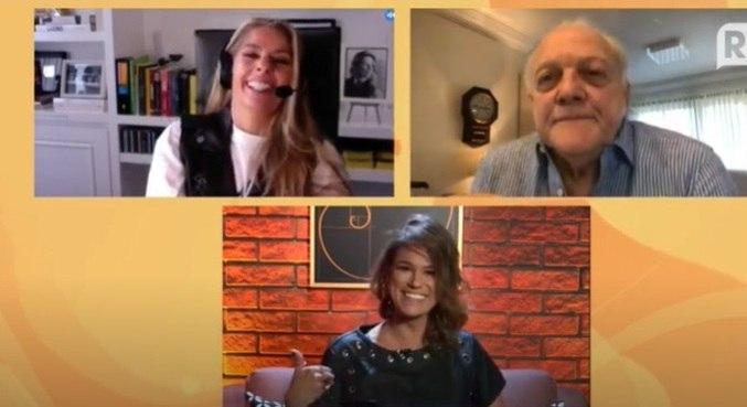 Galisteu foi entrevistada por Dani Bavoso e Flavio Ricco